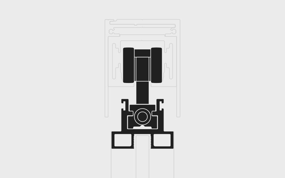 Das hängende System ist wieder verfügbar Zeichnung System