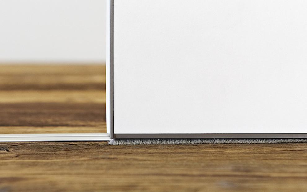 KUHN Bürstenprofil Detailaufnahme Geräuschhemmend Schallabsorbtion Schallschutz Dichtungs-Set
